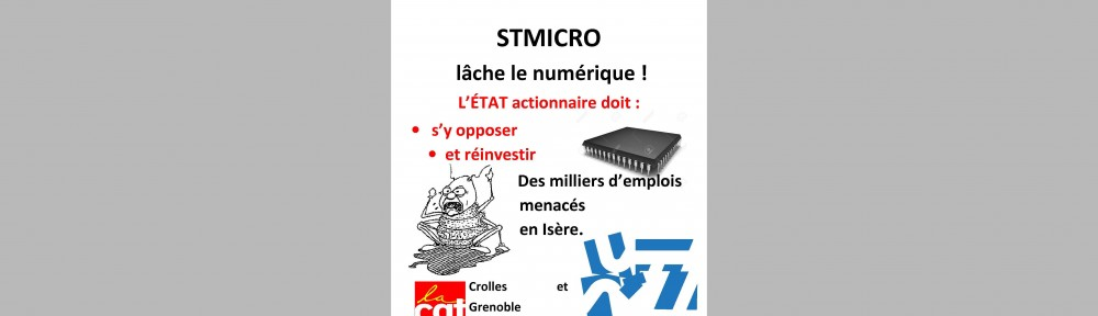 Comit d etablissement cgt stmicroelectronics grenoble for Election chsct